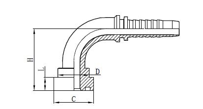 4SH Montaža creva za montažu Crtež