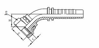 R1AT Sklop hidrauličnih creva