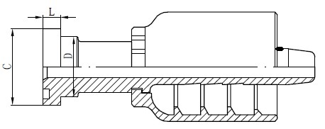 Crtež SS konektora