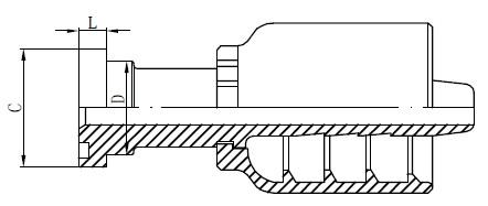 Nerđajući čelik Hidraulične armature za crtanje